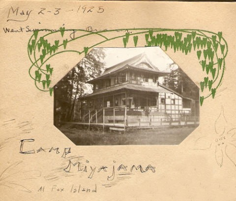 Camp Miyajama - Fox Island, 1925